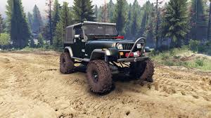 dark green jeep jeep fc green for spin tires