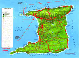 The Map Of Spain by Worldrecordtour North America Caribbean Trinidad U0026 Tobago Port