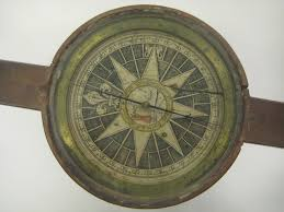 United States Map With Compass by Cartographic Objects And Globes