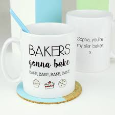 and bake mug bakers gonna bake emoji mug by ellie ellie notonthehighstreet
