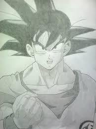 goku sketch by aoempires on deviantart