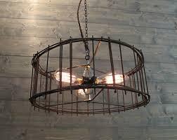 Industrial Lighting Chandelier Industrial Chandelier Etsy