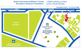 Metro Station Map In Dubai by Contact