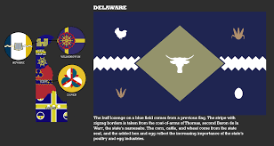 State Flag Meanings New Delaware Flags State Flag And Map By Djinn327 On Deviantart