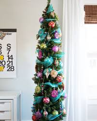 decor tips decorative artificial slim tree for adorable