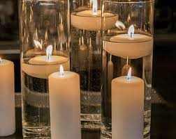 Vases With Floating Candles Wedding Vases Etsy