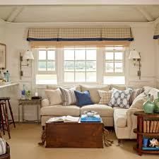 how to decorate a living room beach cottage style decorating coastal living