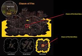 chasm of fire demi boss 2007scape