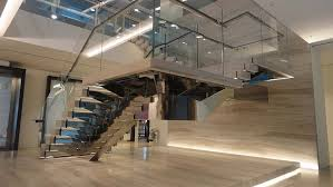 Stairs With Open Risers by Burlington Glass Commercial Staircase Canal Architectural