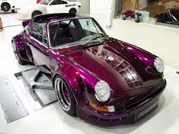 rauh welt porsche 911 photo of the day purple 1975 porsche 911 targa by rwb gtspirit