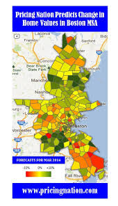 msa map boston msa home price forecasts for march 2014 pricing nation