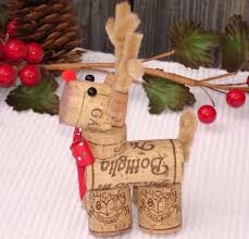 reindeer wine cork decoration no directions in the link but