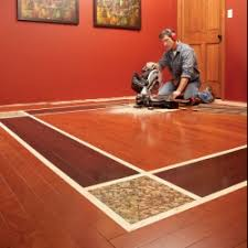 mix and match colors of wood laminate flooring add a few
