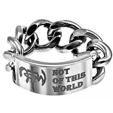 mens christian jewelry rings chain link ring notw stainless steel christian jewelry