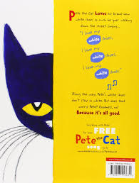 Pete The Cat Clothing Pete The Cat I Love My White Shoes Eric Litwin 9780007553631