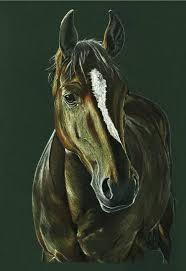 buy original impressionism horse drawings saatchi art