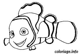 coloriage poisson nemo dessin