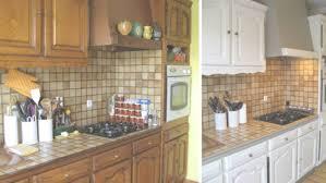 repeindre meubles cuisine cuisine relooker une cuisine rustique repeindre les meubles de