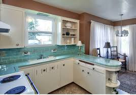 retro modern kitchen retro turquoise kitchen tiles living room realty portland real