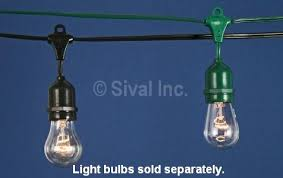 commercial grade heavy duty outdoor string lights 54 ft 24