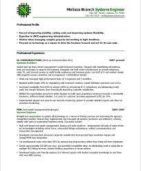 Resume Headline For It Engineer Download Systems Engineer Resume Haadyaooverbayresort Com