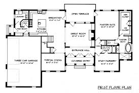 first floor in spanish edg4574 georgian house plan imperial two edg collection colonial