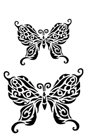 ss28 butterfly two stencil murray designs