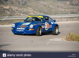 rally porsche blue 1973 porsche rsr racing in the mallorca classic car rally