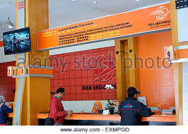 Post Office Help Desk Indonesia Post Office In Malang East Java Photograph By Julio
