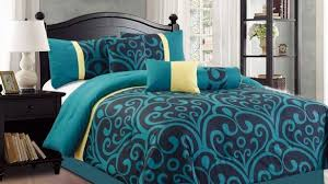 Green And Yellow Comforter Simple Bedroom With Spring Floral Garden Comforter Set With