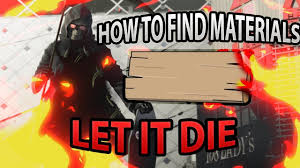 Buy Blueprints Let It Die How To Buy Materials And Blueprints Youtube