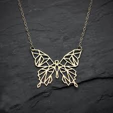 aliexpress necklace pendants images Buy niandi butterfly necklace geometric butterfly jpg
