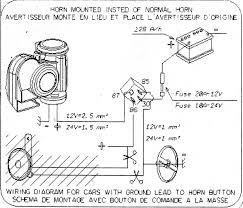 custom installation of motorcycle air horn