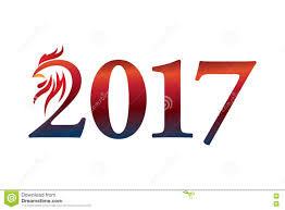 2017 chinese zodiac sign calendar 2017 year of the rooster chinese zodiac sign stock
