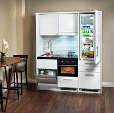 mini kitchen cabinets small kitchen design space saving modern