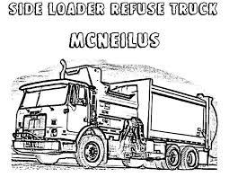 cobra magnum garbage truck coloring pages cobra magnum garbage