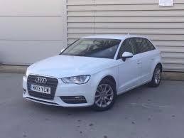 2013 audi a3 2 0 tdi se sportback 5dr diesel 150 bhp white new
