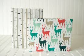 reversible christmas wrapping paper christmas family gift wrap set wrappily eco friendly gift