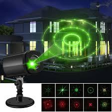 Landscape Lighting World Christmas Laser Lights Outdoor Projector Lights Auto Timer