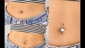 belly button piercing waterproof