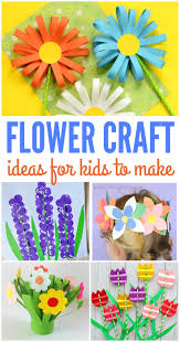 flower crafts for kids kreative in life