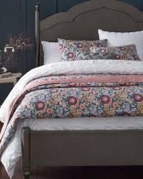 100 cotton floral bedding garnet hill