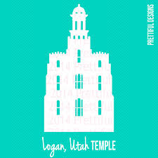 Home Decor Logan Utah Logan Utah Temple Silhouette Lds Mormon Clip Art Png Eps Svg