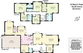 heathrow terminal 5 floor plan 5 bedroom detached house for sale in st mary u0027s road ascot