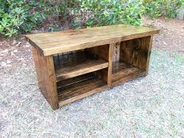 diy entry shoe bench front entry shoe bench image of rustic