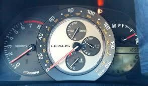 lexus dash lights light on in dash help lexus is forum
