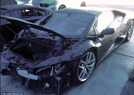 crashed for sale lamborghini huracan for sale for one dollar on trade me in