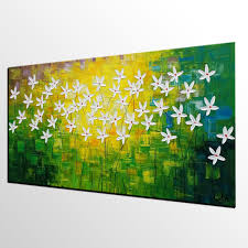 abstract art flowe painting kitchen wall art abstract painting