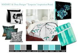 Home Decor Design Board Madart U0026 Deny Designs Home Decor Turquoise Theme Mood Board