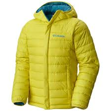 columbia ultra light down jacket columbia boys powder lite puffer jacket mineral yellow us